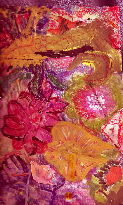 Pink Painting - Floral Whimsy 2 by Anne-Elizabeth Whiteway