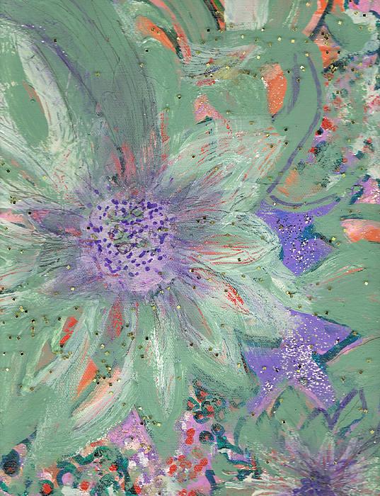 Flowers Painting - Flores De Amor by Anne-Elizabeth Whiteway