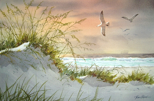 Florida Dune Painting by Tom Bond