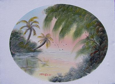 Florida Morning Painting by Sheldon Morgan