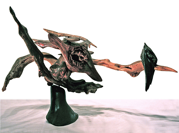 Caricatures Sculpture - Flow by Ralph Levesque