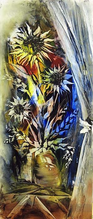 Painting Painting - Flower3 by Nasrin Kheiri