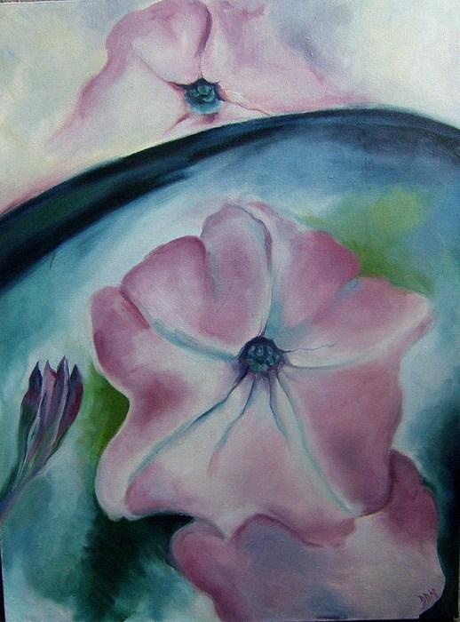 Flowers Painting - Flowers by Darlene LeVasseur