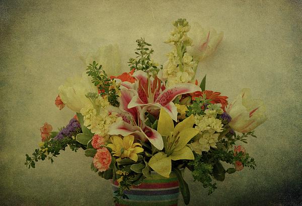Flowers Photograph - Flowers by Sandy Keeton