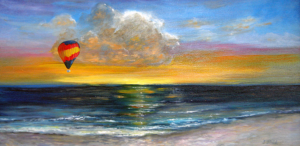 Landscape Painting - Fly Away by Jeannette Ulrich