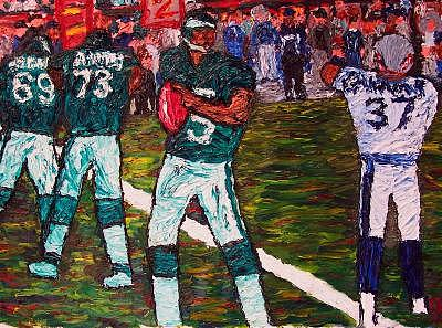 Fly Eagles Fly Painting by Ira Stark