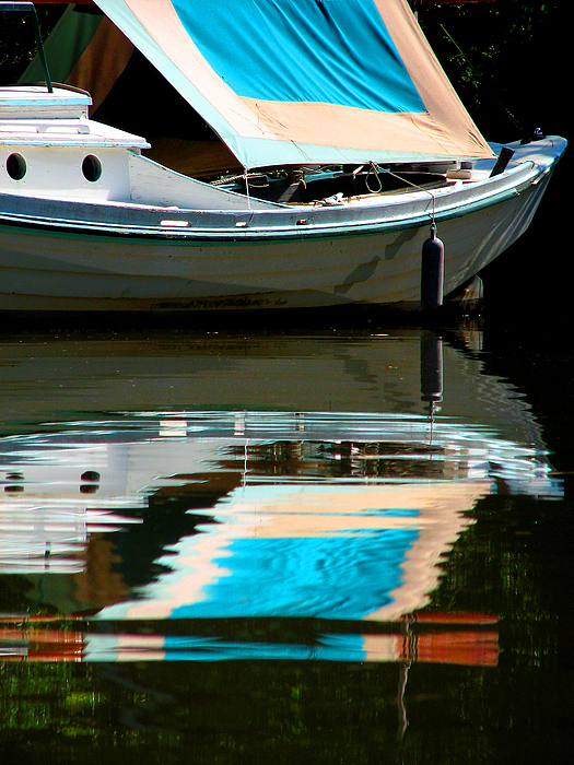 Boat Photograph - Flycreek by Val Jolley