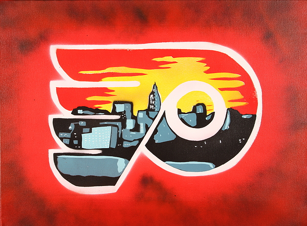 Philly Painting - Flyers by Tom Evans