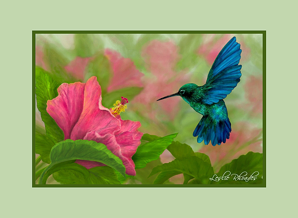 Leslie Rhoades Digital Art - Flying Colors by Leslie Rhoades