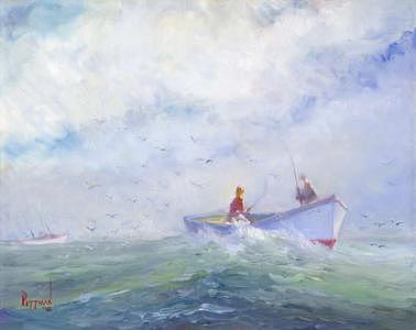 Follow The Birds Painting by Bob Pittman