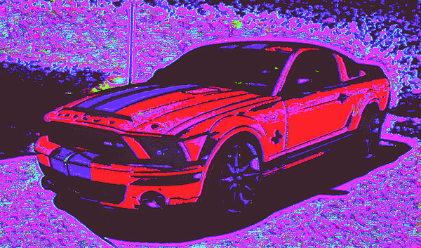 Ford Shelby D4 Digital Art by Modified Image