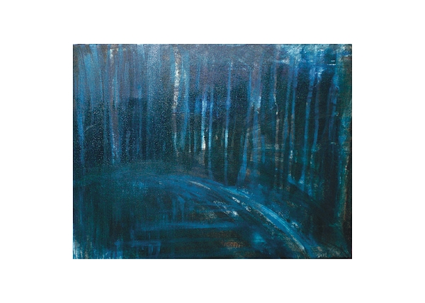 Abstract Painting - Forest In The Trees by Melissa M Conca