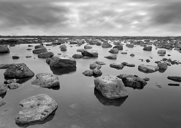 Bay Photograph - Forever Rocks by Svetlana Sewell