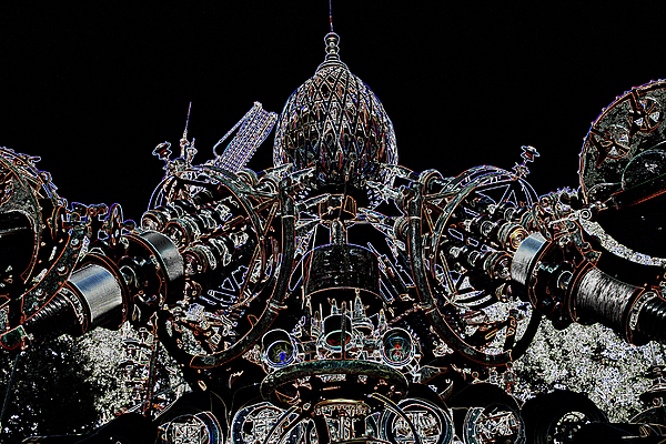 Scrap Photograph - Forevertron by Tya Kottler