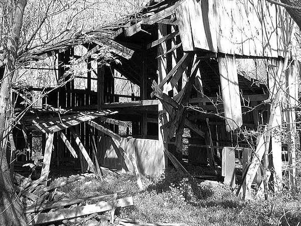 Abandoned Photograph - Forgotten Barn by Terry  Wiley
