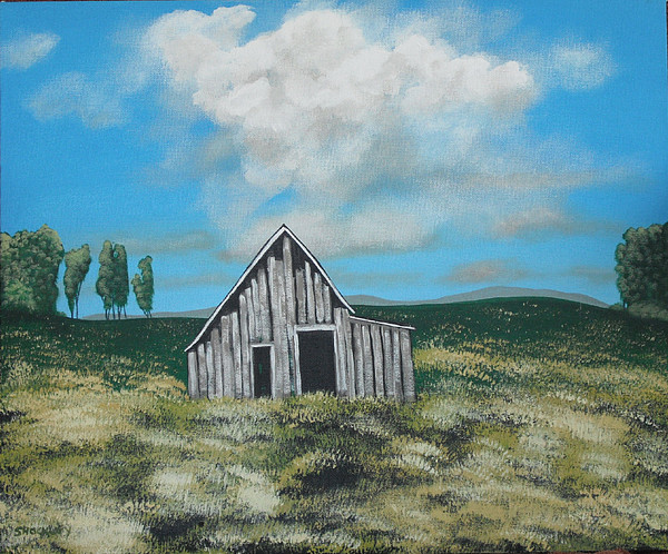 Landscape Painting - Forgotten by Candace Shockley