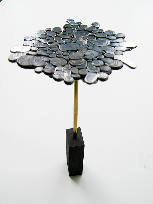 Graphite Sculpture - Form Over Function by Tony Murray