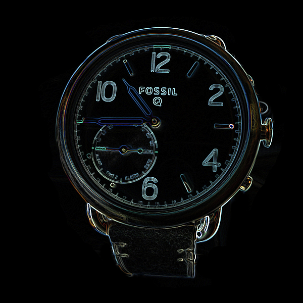 Watchs Photograph - Fossil Q 3 by Bruce Iorio