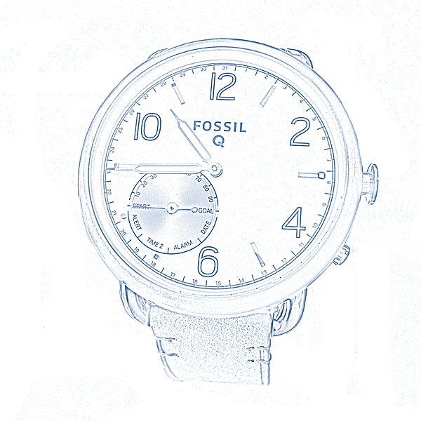 Watchs Photograph - Fossil Q 5 by Bruce Iorio