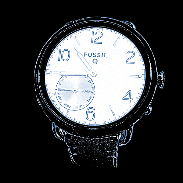 Watchs Photograph - Fossil Q 6 by Bruce Iorio