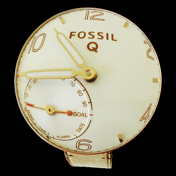 Watchs Photograph - Fossil Q 7 by Bruce Iorio