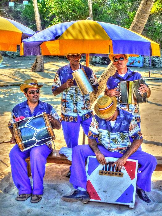Four Photograph - Four Man Band by Michael Garyet