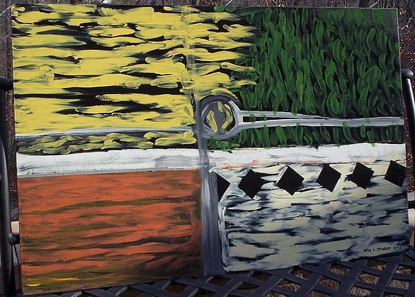 Four Seasons Painting by Otis L Stanley