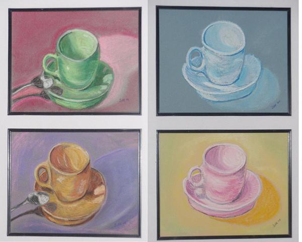 Coffee Pastel - Four Seasons by Samuel Silk