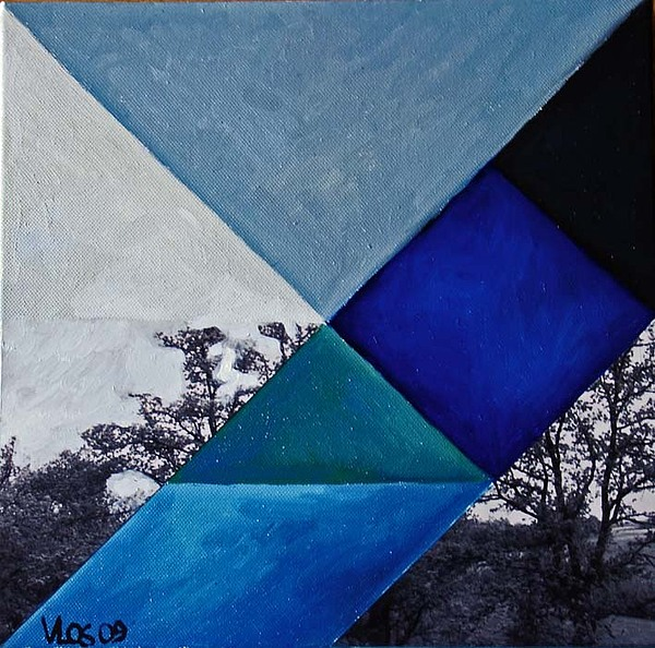 Fp21-tangram Painting by Vittorio Losito
