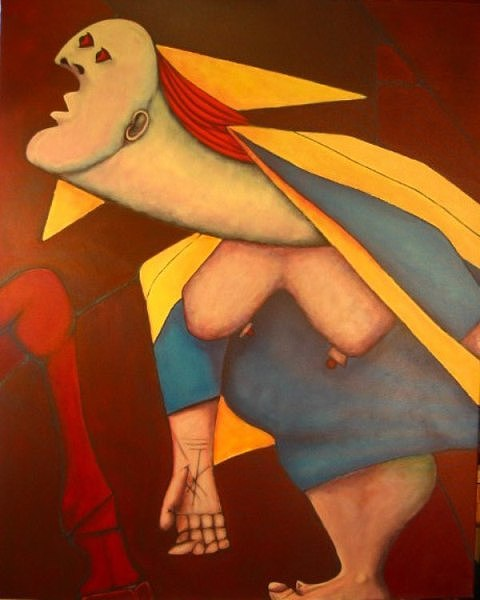 Fragmento Do Guernica IIi Painting by Nicolau Campos