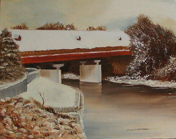 Frankenmuth Michigan Painting by Sharon Steinhaus