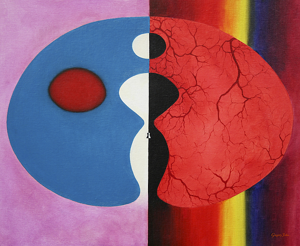 Abstract Painting - Free No Longer by Gregory John
