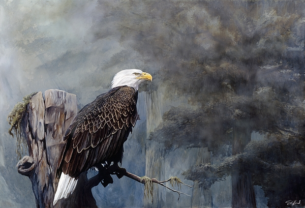 Freedom Painting - Freedom Haze by Steve Goad