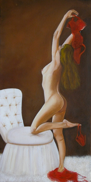 Nude Painting - Freedom by Joni McPherson