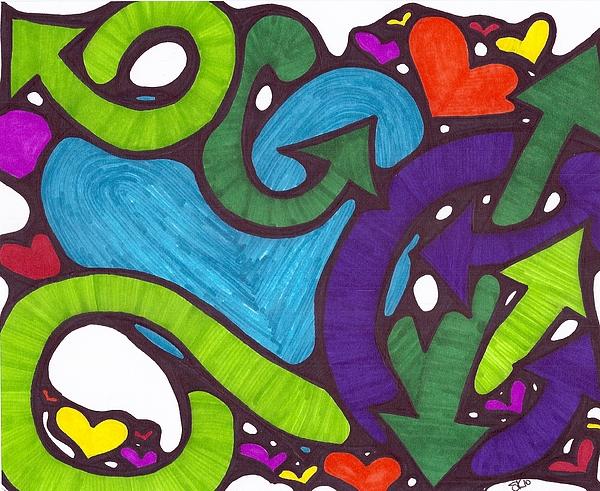 Love Drawing - Fresh Love by Sherry Klander