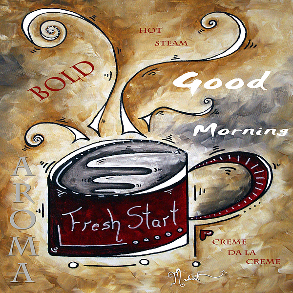 Original Painting - Fresh Start Original Painting Madart by Megan Duncanson