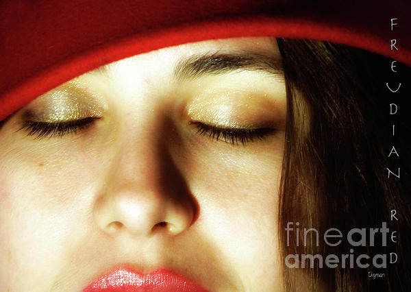 Beauty Photograph - Freudian Red  by Steven Digman