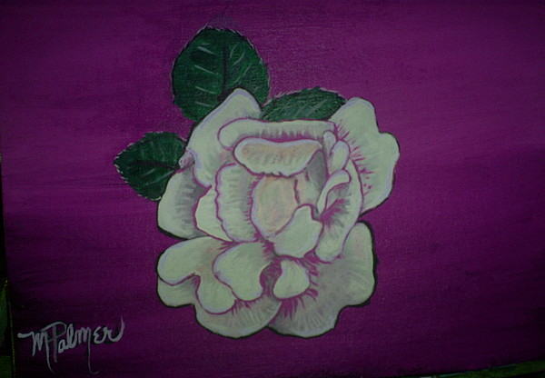 Flowers Painting - Frlower by Margaret Palmer