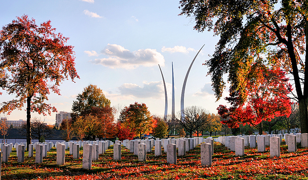 Air Force Photograph - From Arlington by JC Findley