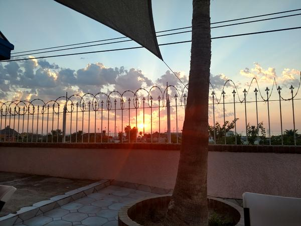 Sunrise Photograph - From The Patio by Staci Black