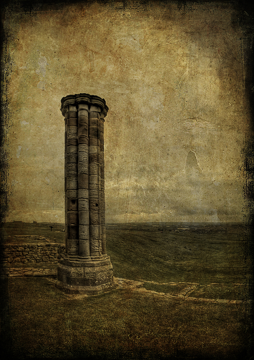 Column Photograph - From The Ruins Of A Fallen Empire by Evelina Kremsdorf