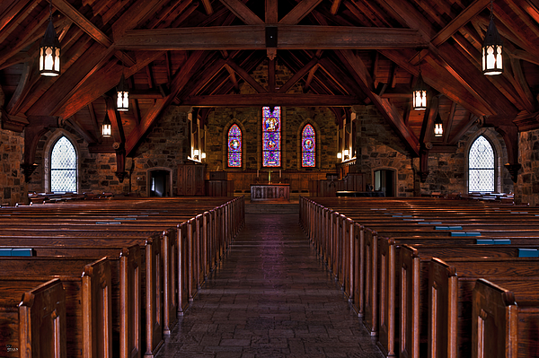 Chapel Photograph - Frost Chapel Hdr 2 by Jason Blalock