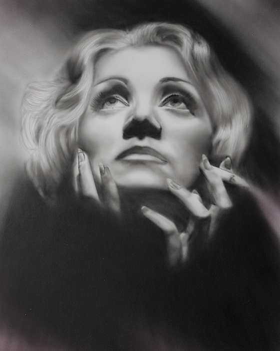 Movie Star Painting - Frozen In Time by Jeff Mueller