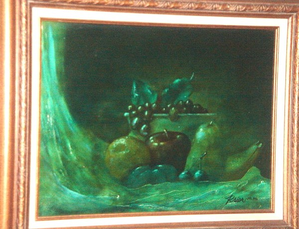 Fruit Of Ol Masters Painting by Houston Prior