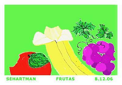 Frutas Digital Art by Sue Hartman