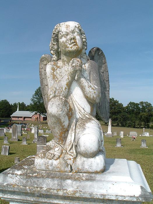 Angel Photograph - Full Angel by Amanda Shelburne