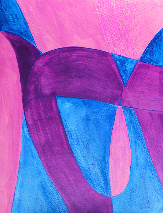 Abstract Painting - Fun In Abstract Word Art by Lee Serenethos
