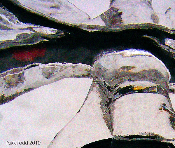 Abstract Photograph - Fury by Nicole Kinzer