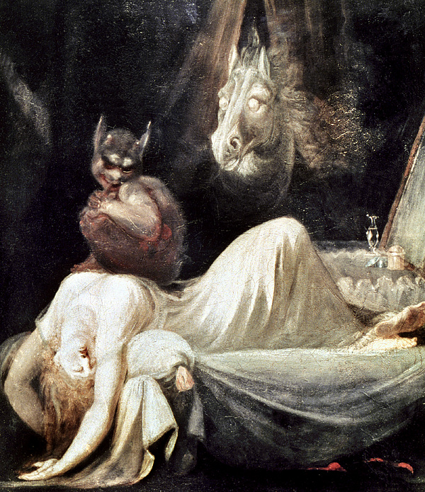 1781 Photograph - Fuseli: Nightmare, 1781 by Granger