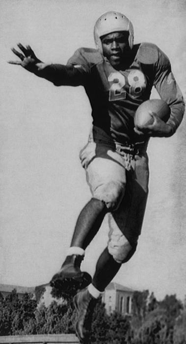 1940s Photograph - Future Brooklyn Dodger Jackie Robinson by Everett